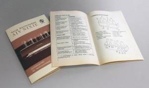Руководство пользователя из советской бумаги